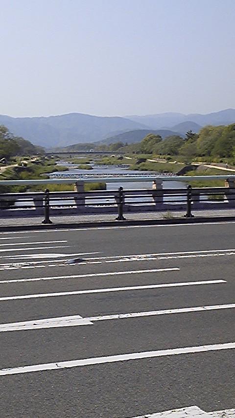 春の賀茂川